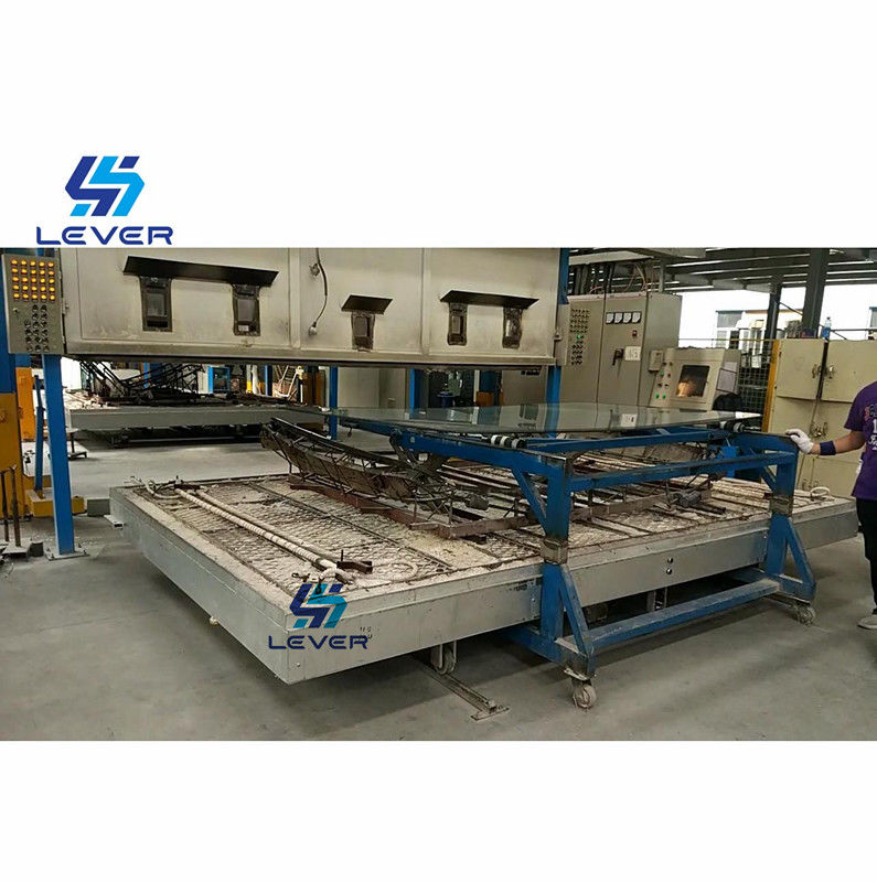 Automatic Glass Thermal Glass Bending Furnace for Bus front Windshield 2000 x 3000mm